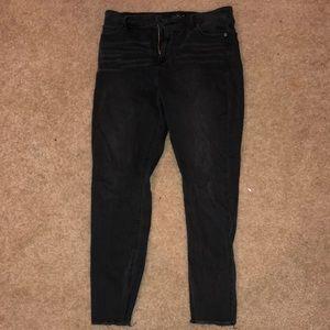 Lucky Brand Size 12 Bridgette Skinny - Black